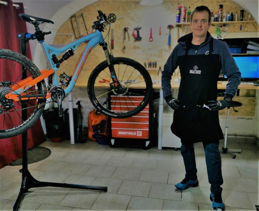 Atelier mécanique vélo à saint saturnin